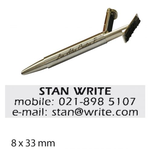 Pen stamp - Sello Lapicero